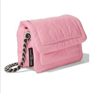 MARC JACOBS: Pretty in Pink Pillow Mini Crossbody